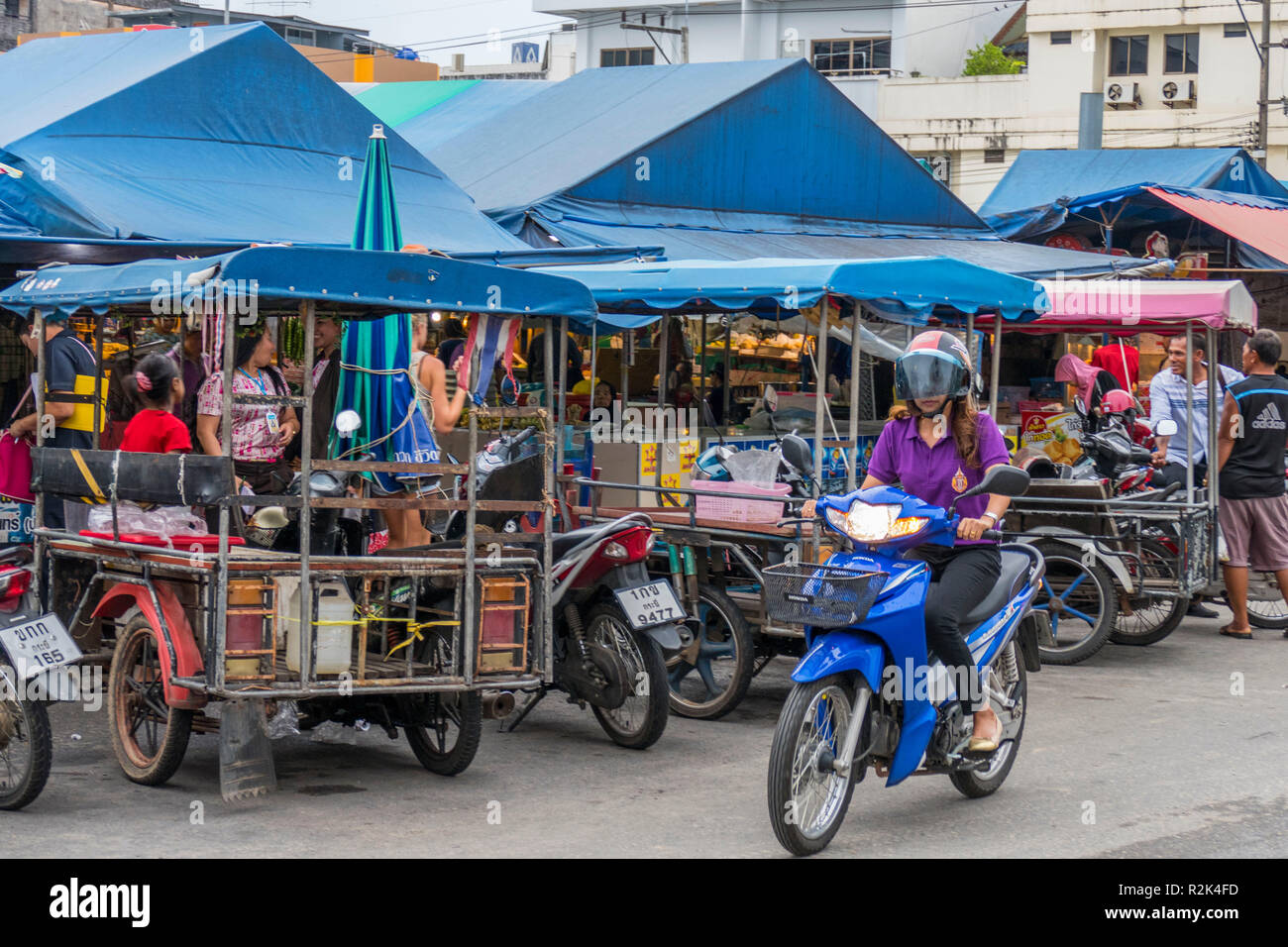Scooter In Thailand Stock Photos & Scooter In Thailand Stock