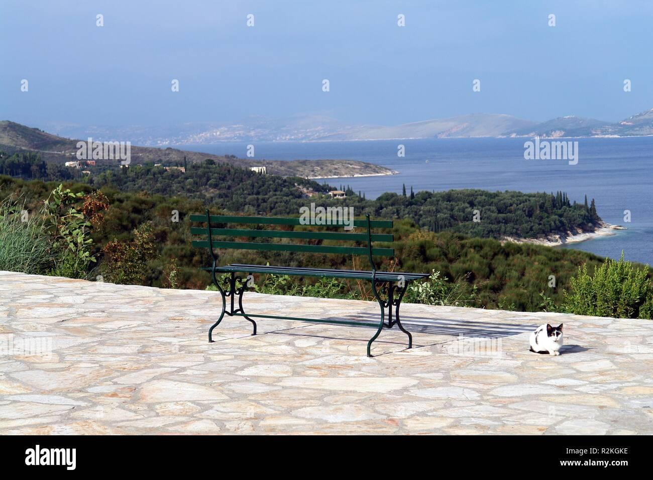 corfu kerkyra - Stock Image