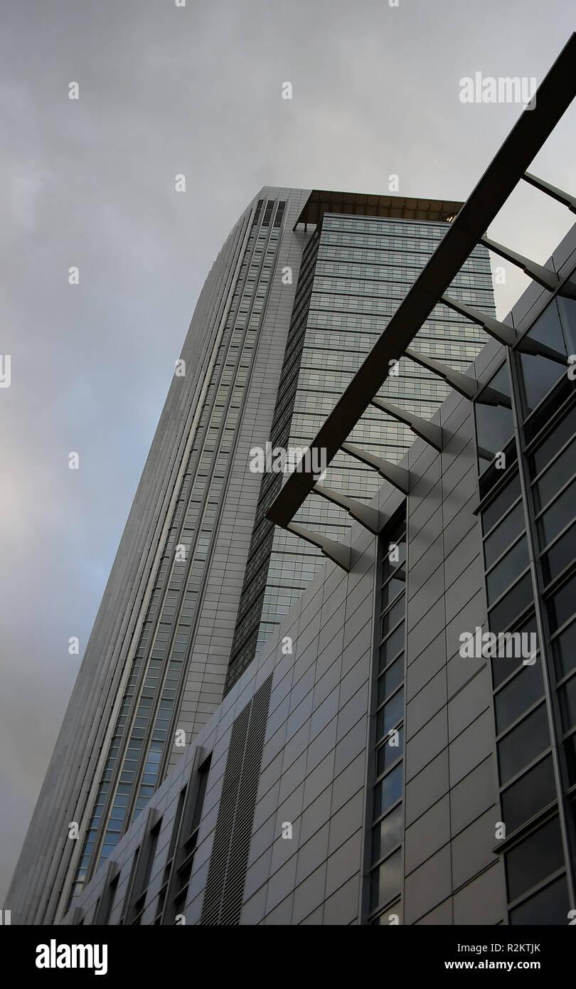 money tower Stock Photo