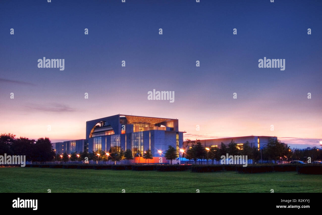 chancellery - Stock Image