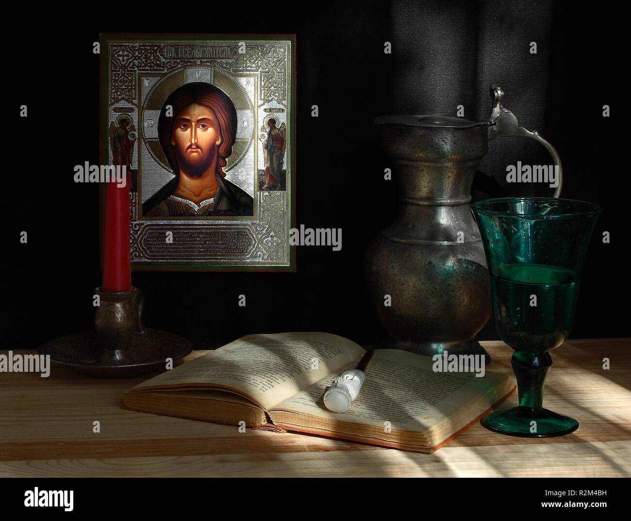 still life with icon. picture 2 - Stock Image