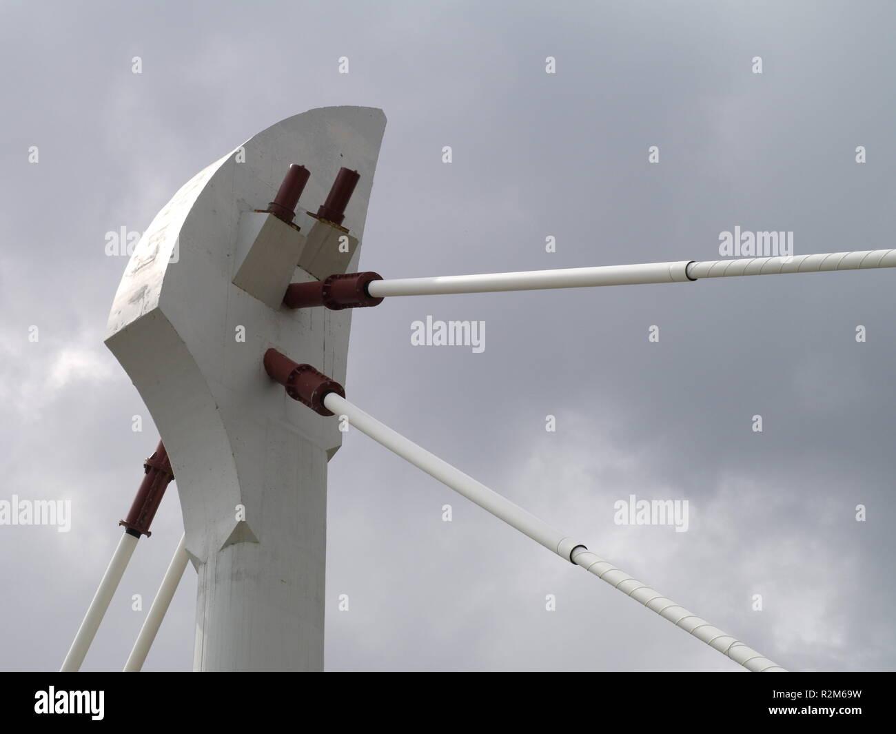 bridge mounting Stock Photo
