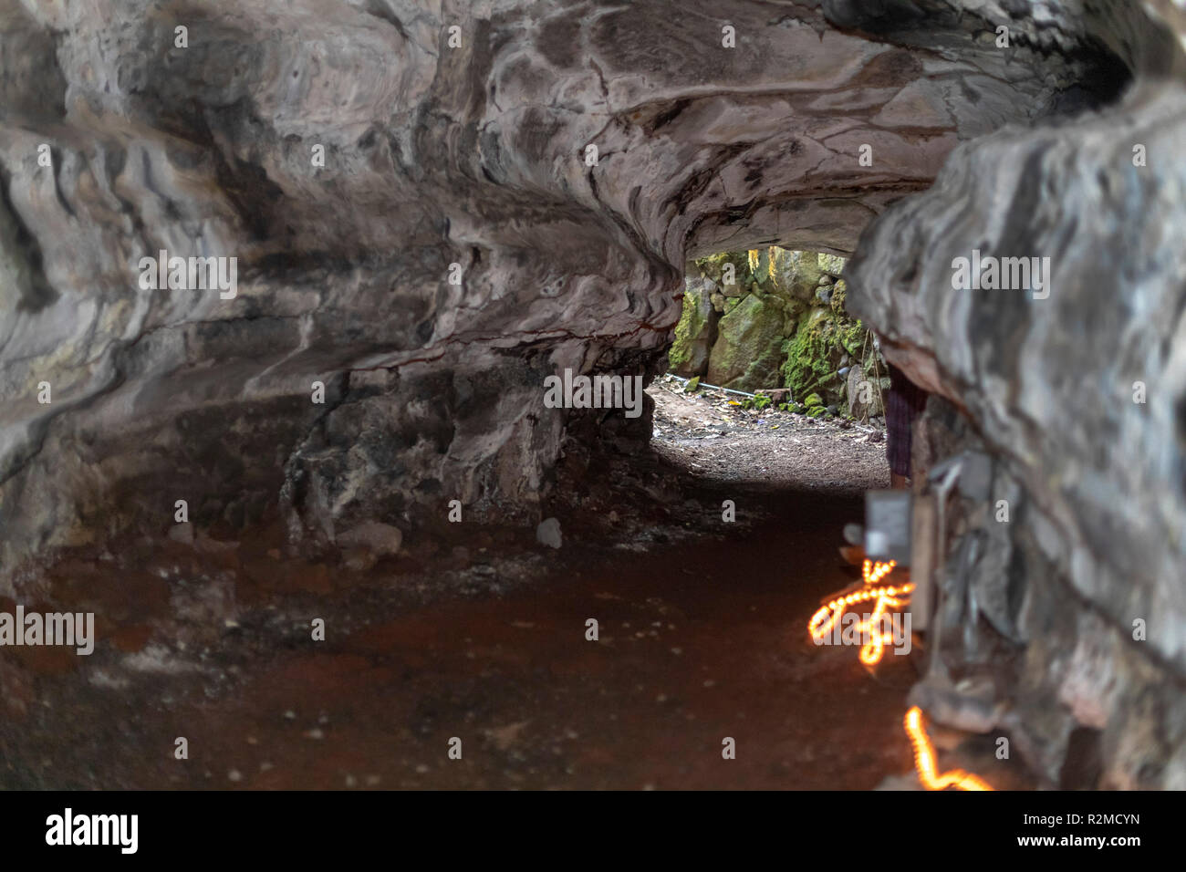 Lava Tube Cave Stock Photos Amp Lava Tube Cave Stock Images