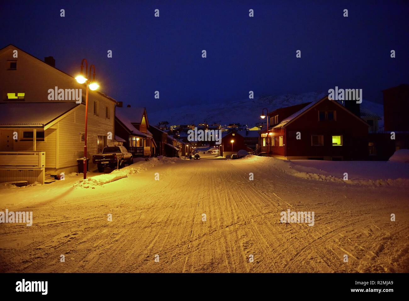Honningsvåg - Stock Image