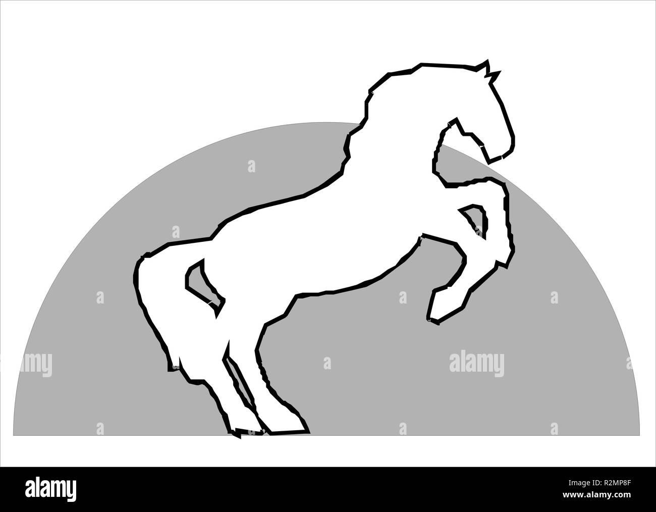 horse 01 Stock Photo