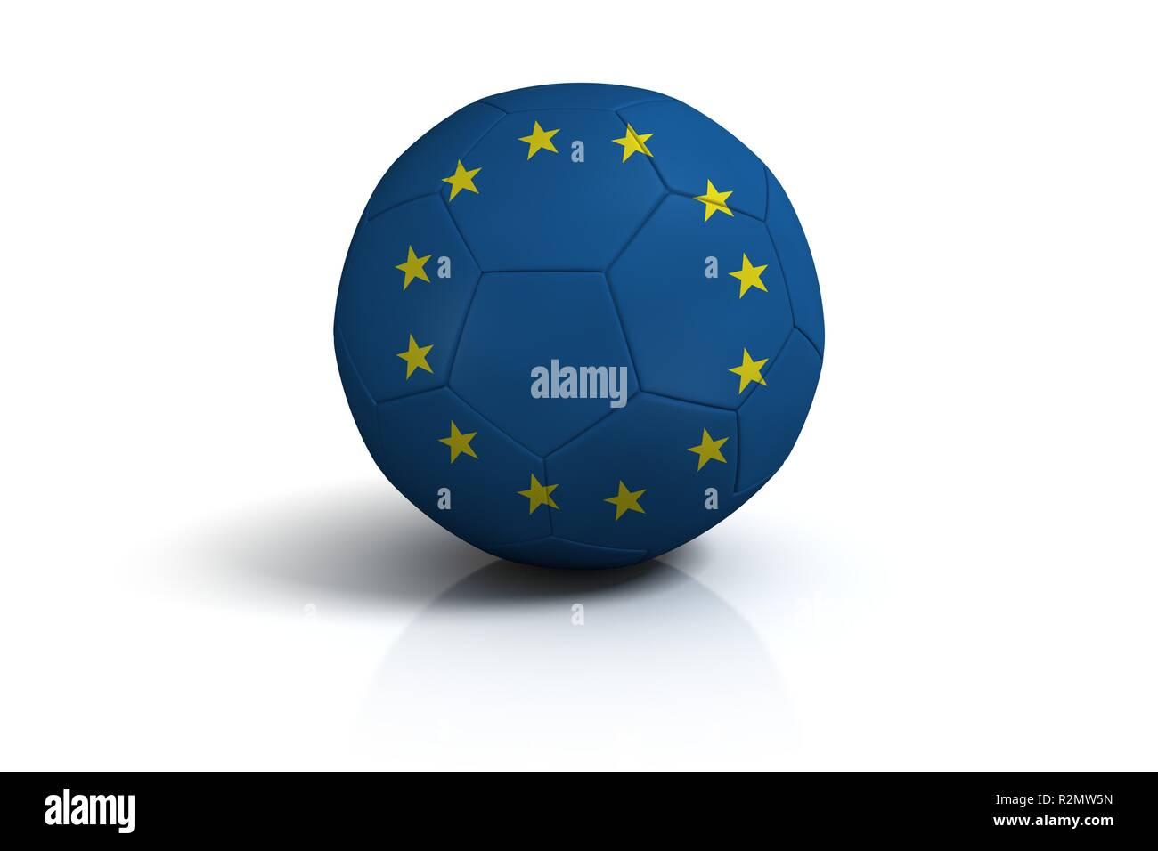 fussball europa - Stock Image