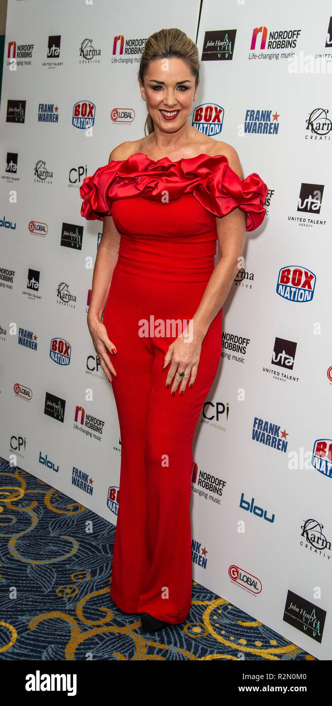 Claire Sweeney Attends The Nordoff Robbins Championship