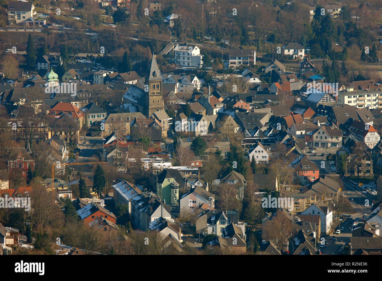 Westende, Herdecke, Ruhr area, North Rhine-Westphalia, Germany, Europe, - Stock Image