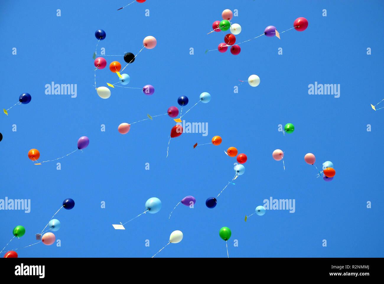 99 Balloons Stock Photo 225441346