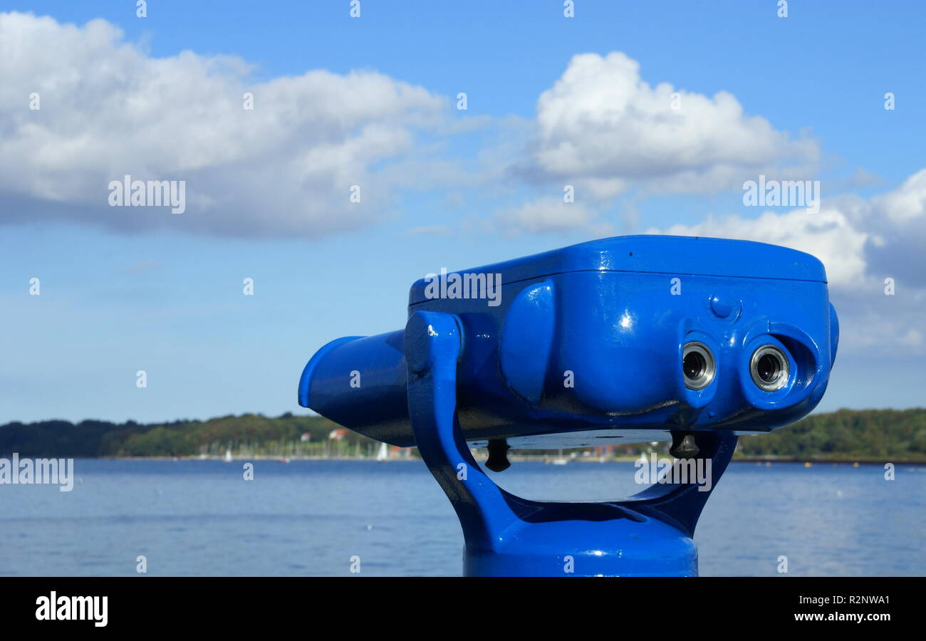 the blue thing - Stock Image
