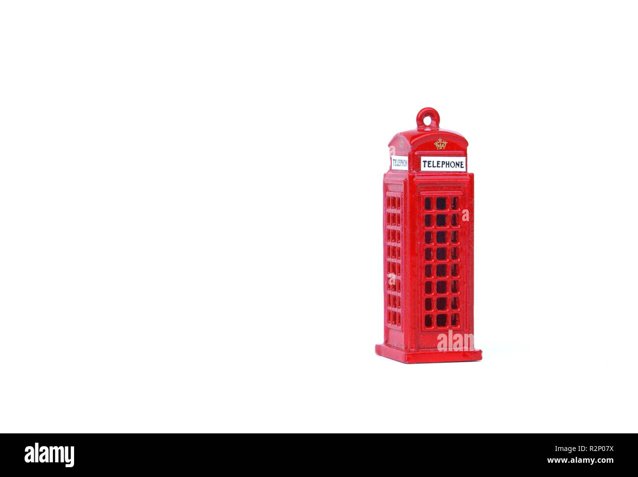 phone booth - Stock Image