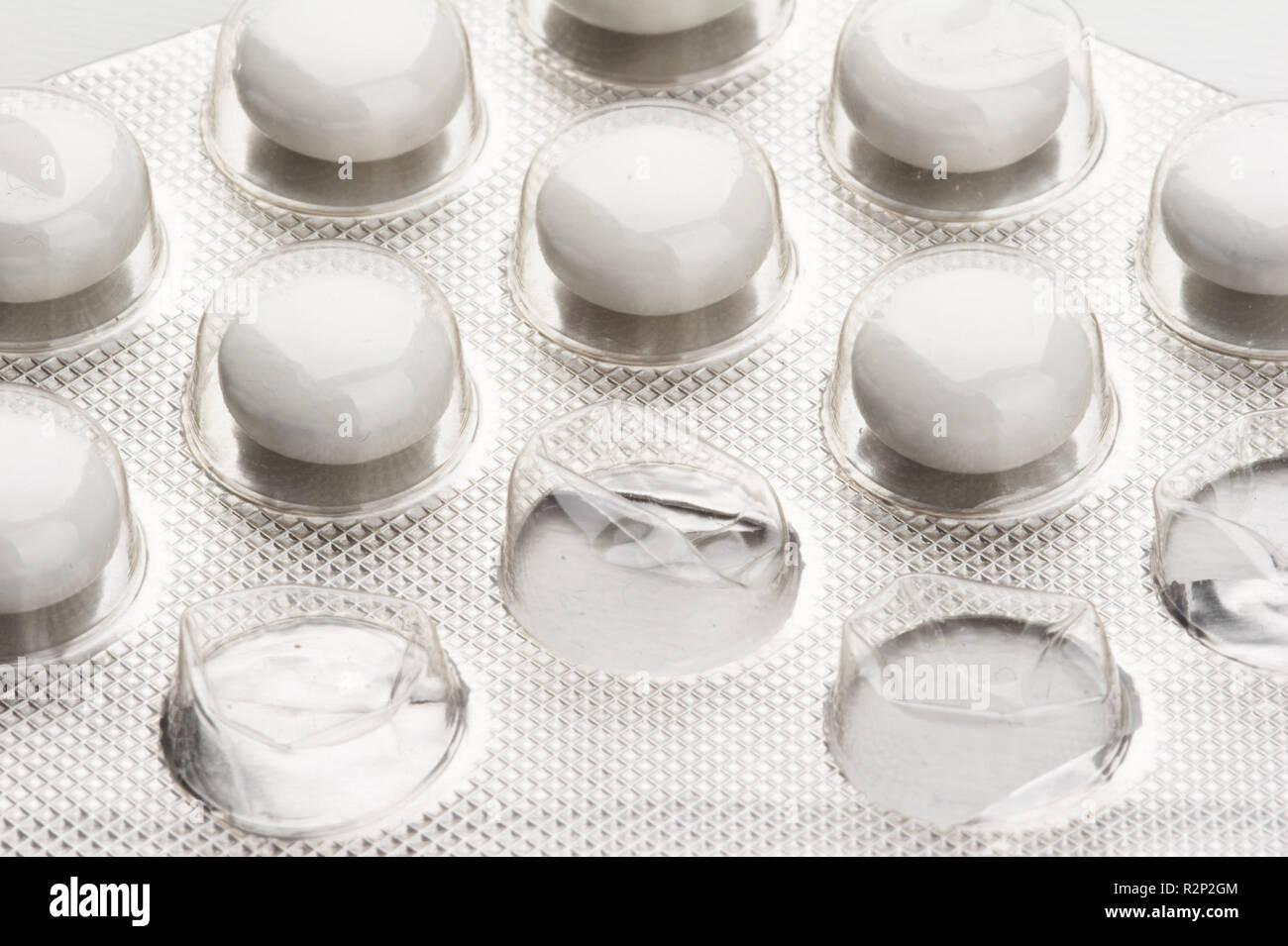 pills - medicine Stock Photo