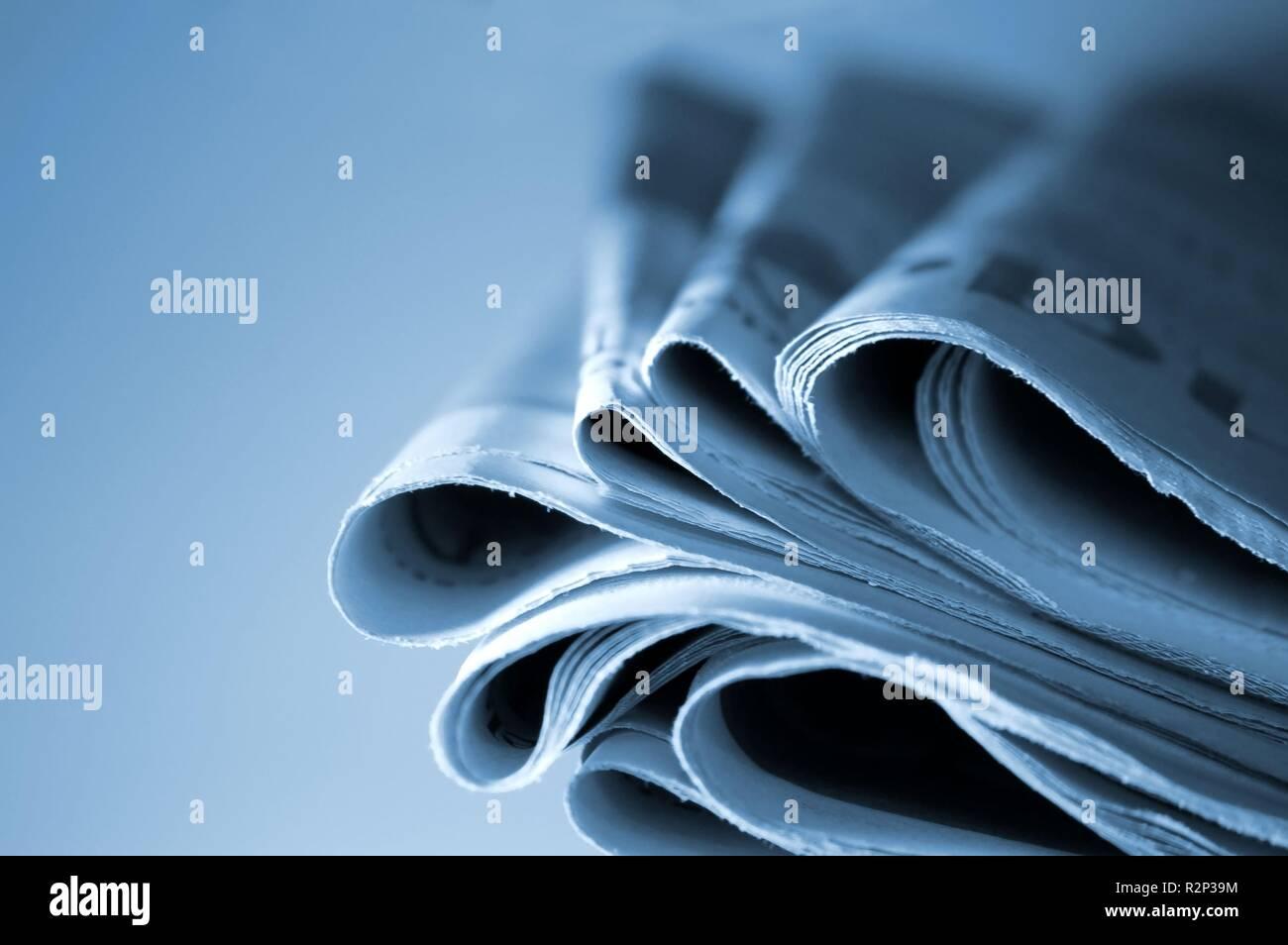 newspapers ii Stock Photo
