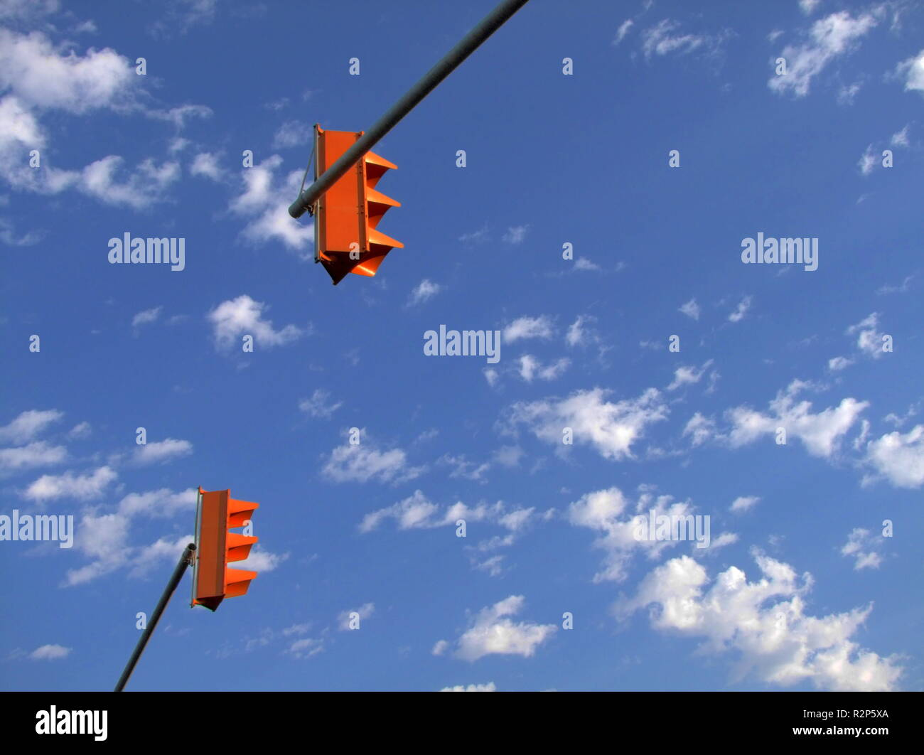 traffic light signals Stock Photo
