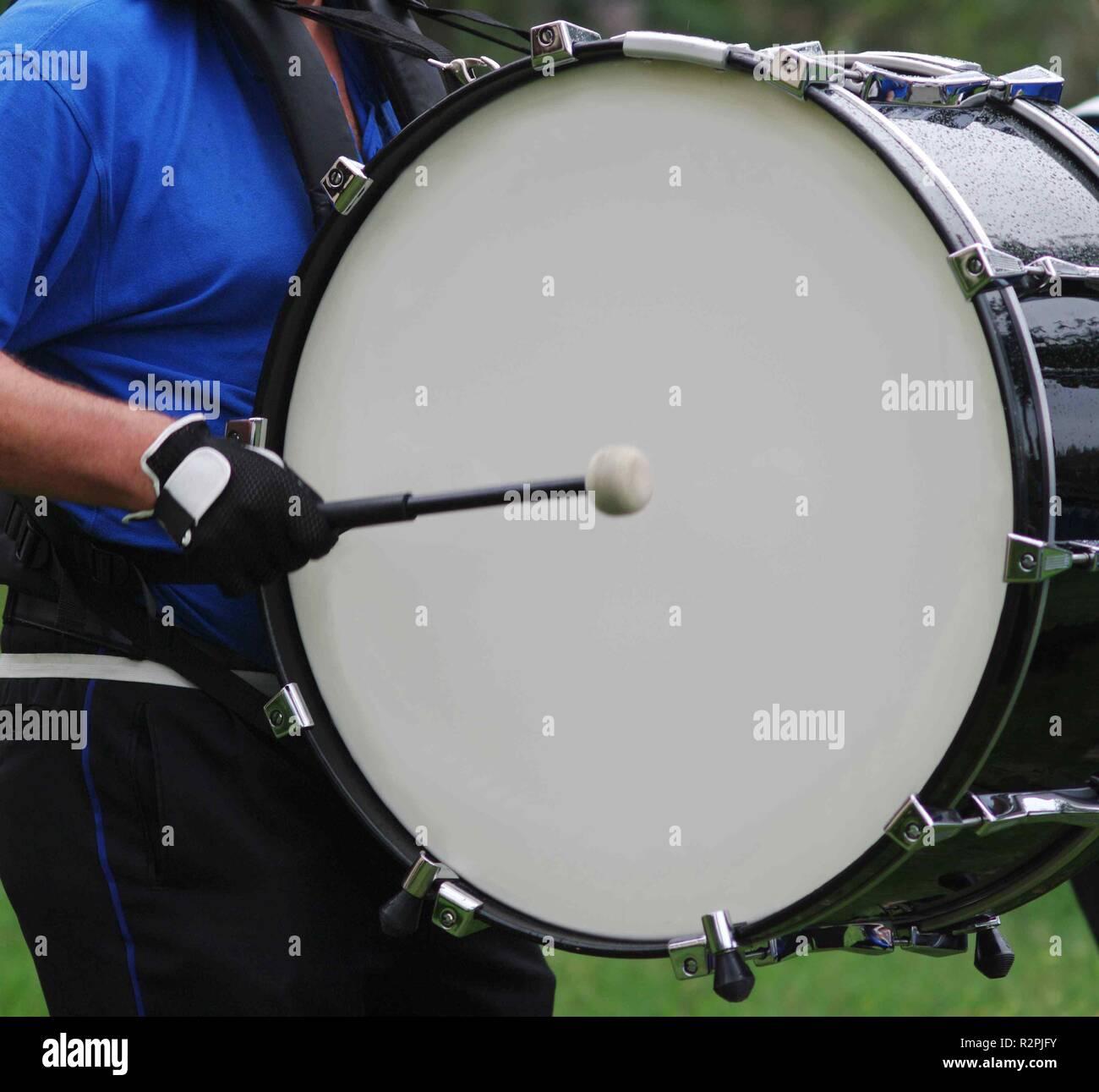 drum,music club - Stock Image