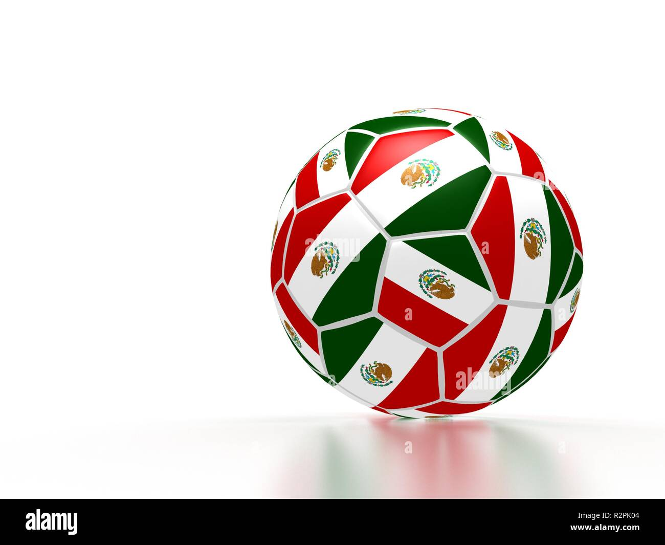 soccer mexico - Stock Image