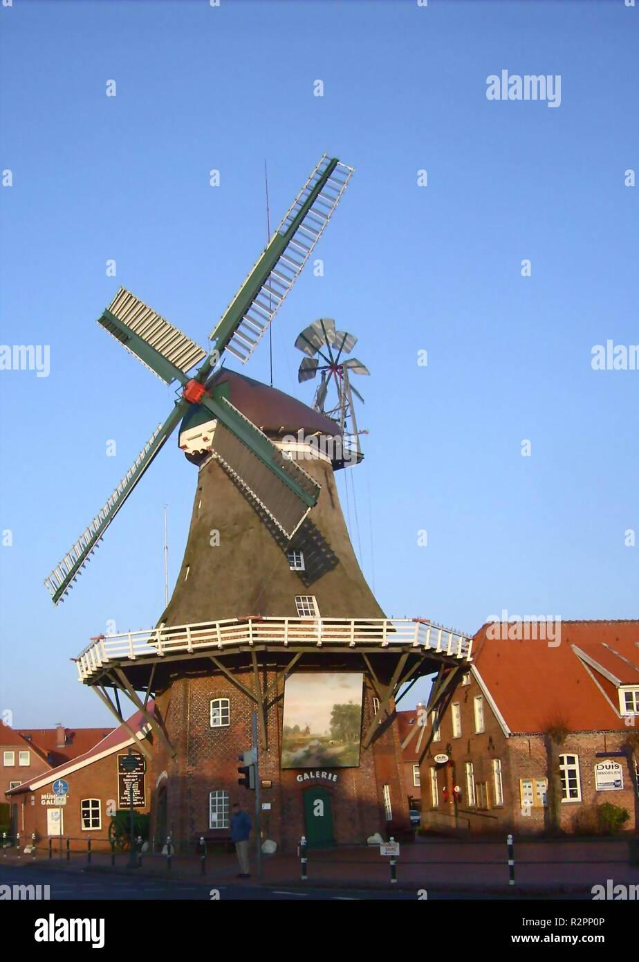 windmill - Stock Image