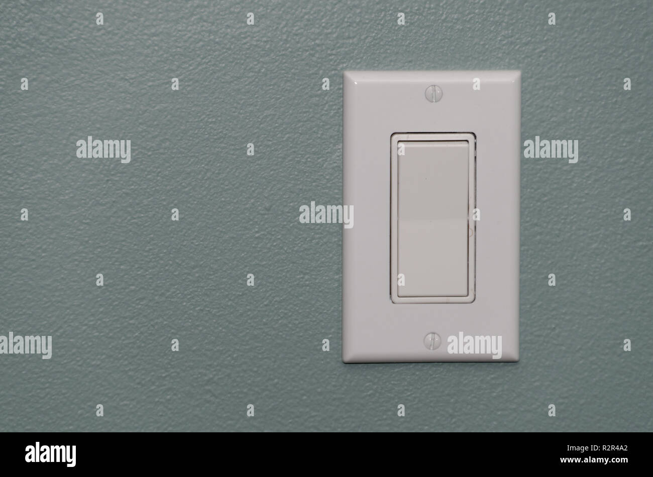 North American style light switch 110V - 120V - Stock Image