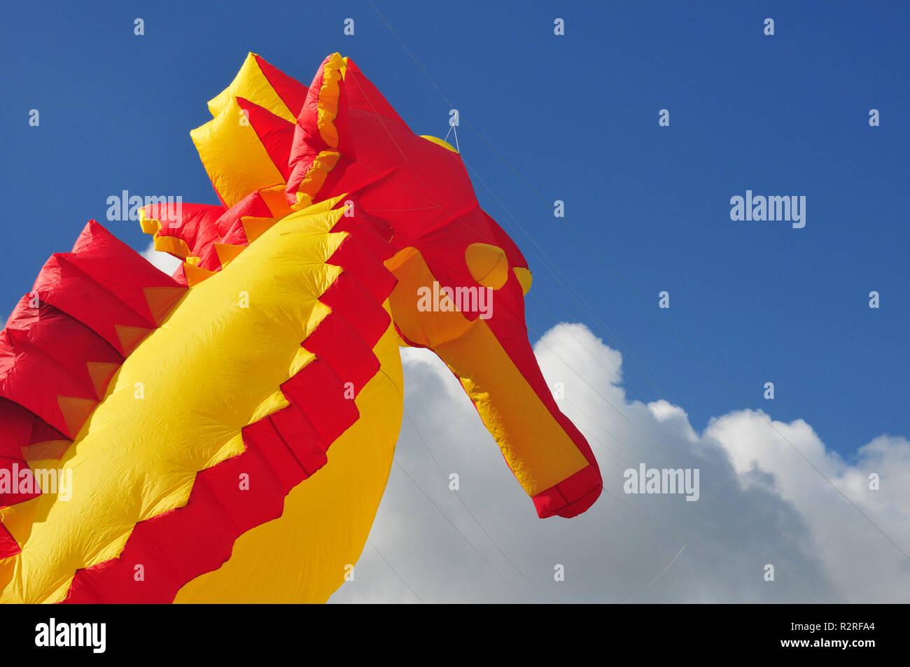 dragon in the sky - Stock Image