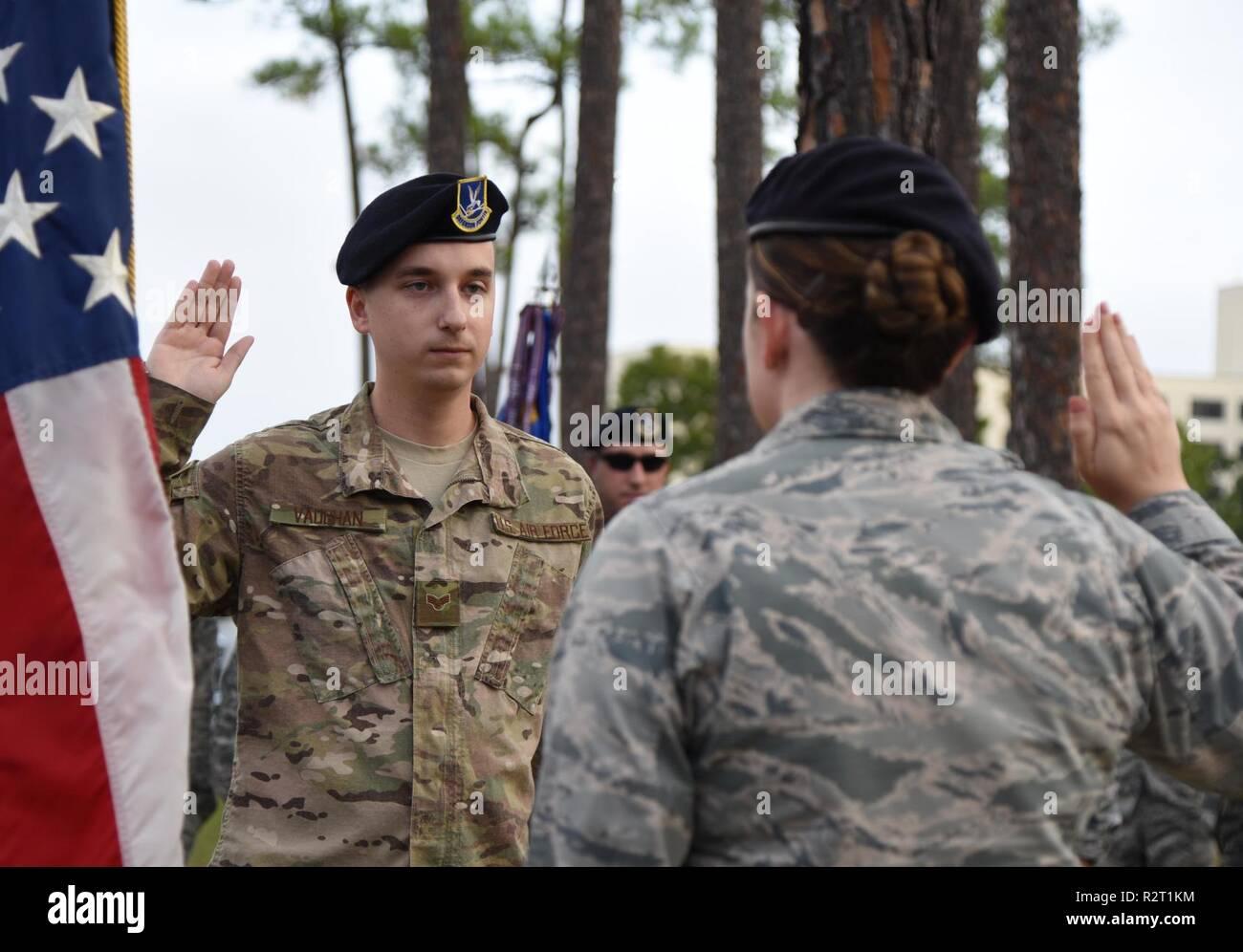 U S  Air Force Capt  Samantha Giebel, 81st Security Forces