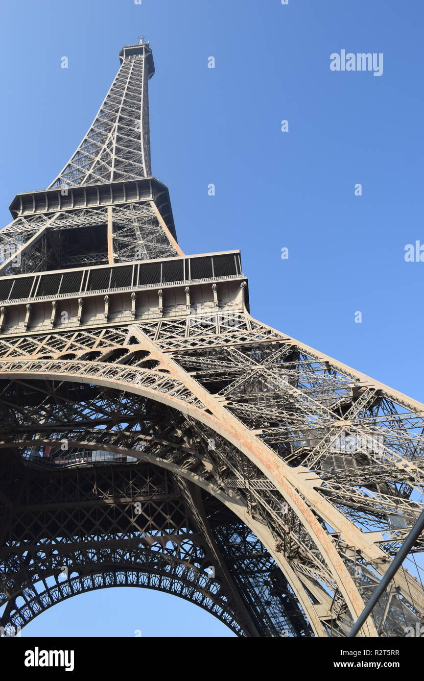 The Eiffel Tower, Paris, France - Stock Image