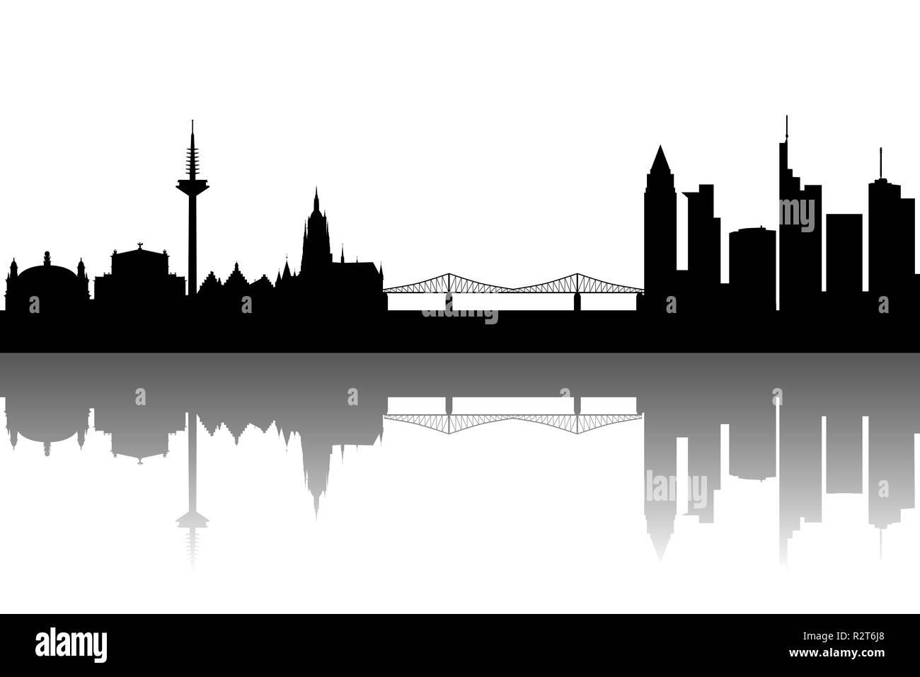 Frankfurt Abstract Stock Photo Alamy