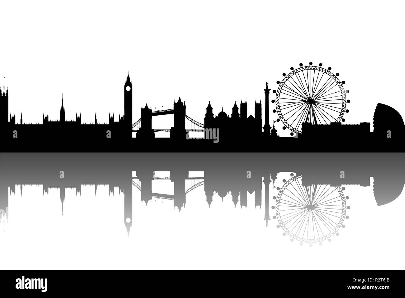london abstract - Stock Image