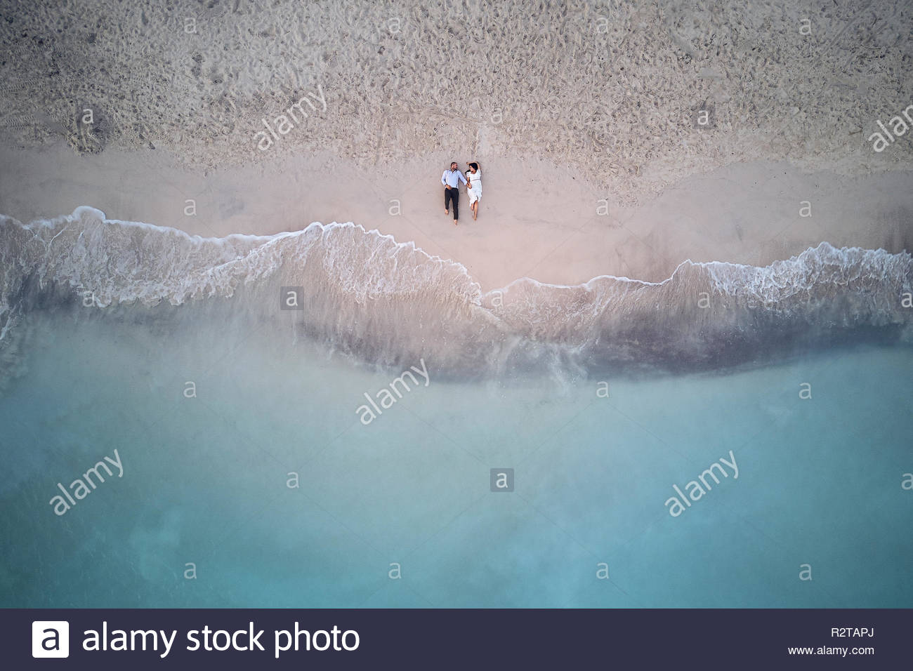 Beach life - Stock Image