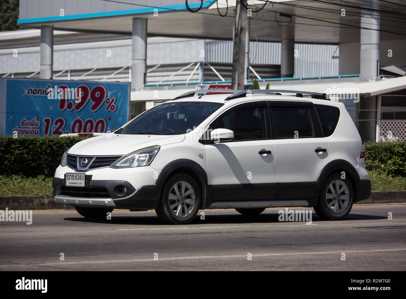 Chiangmai Thailand November 8 2018 Private Nissan Livina Car