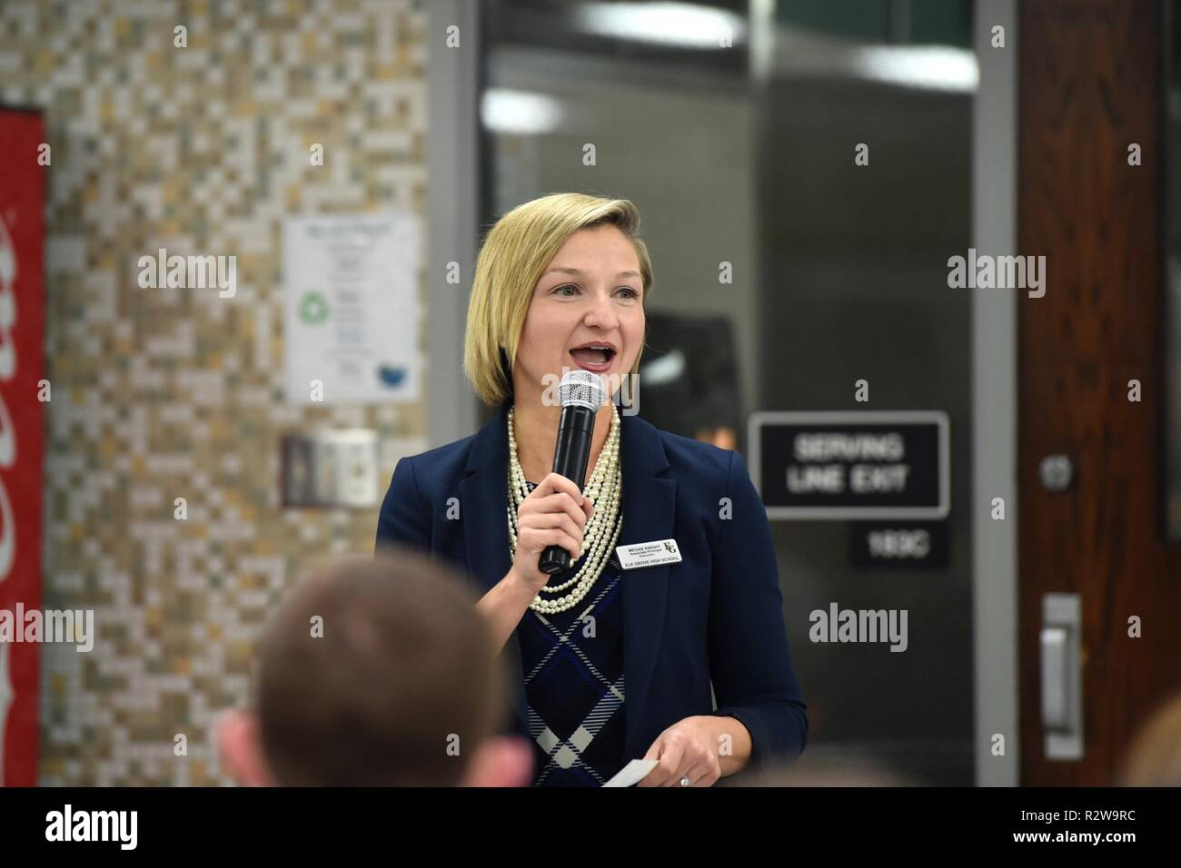 Megan Knight, Associate Principal of Elk Grove High School