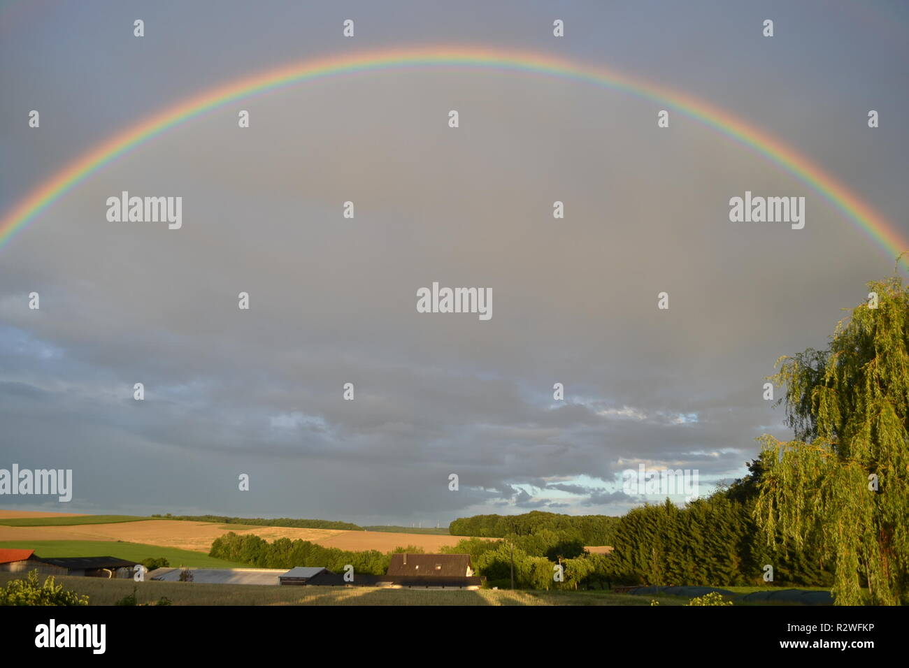 rainbow - Stock Image