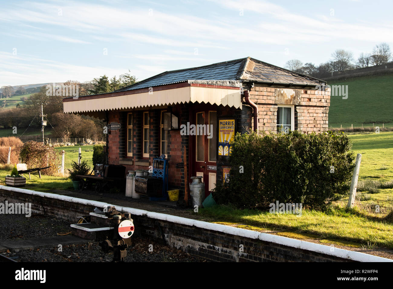 Bala Lake Railway - Stock Image