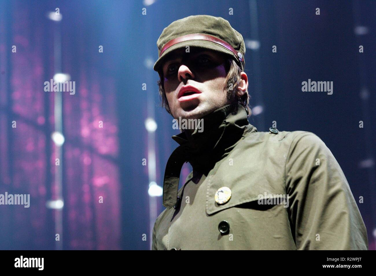 LIAM GALLAGHER  OASIS 20 October 2005 CTS61893 Allstar/Cinetext/HAMBURG - Stock Image
