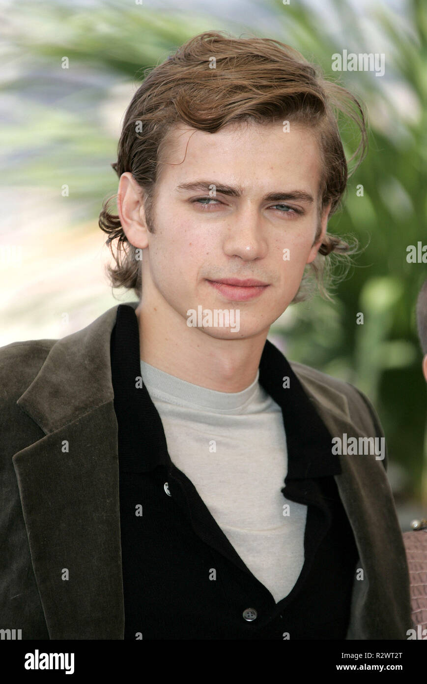 Hayden Christensen Cannes Film Festival 2005 Cannes France 16 May 2005 Stock Photo Alamy