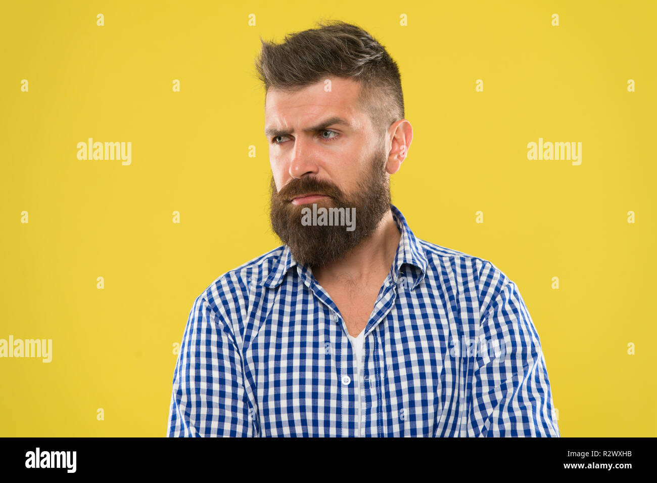 Hipster Appearance Beard Fashion And Barber Concept Man Bearded