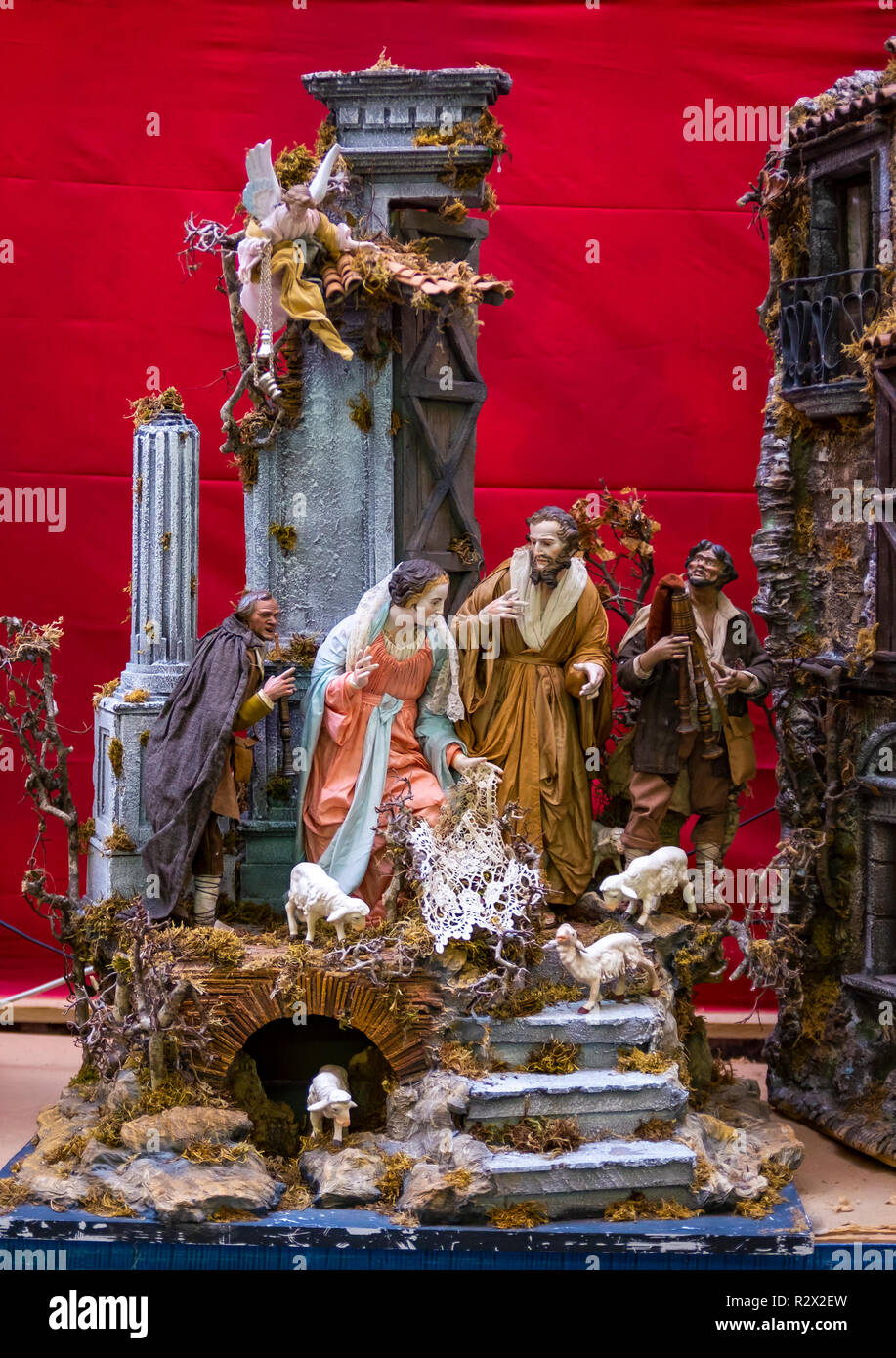 christmas nativity scene Stock Photo