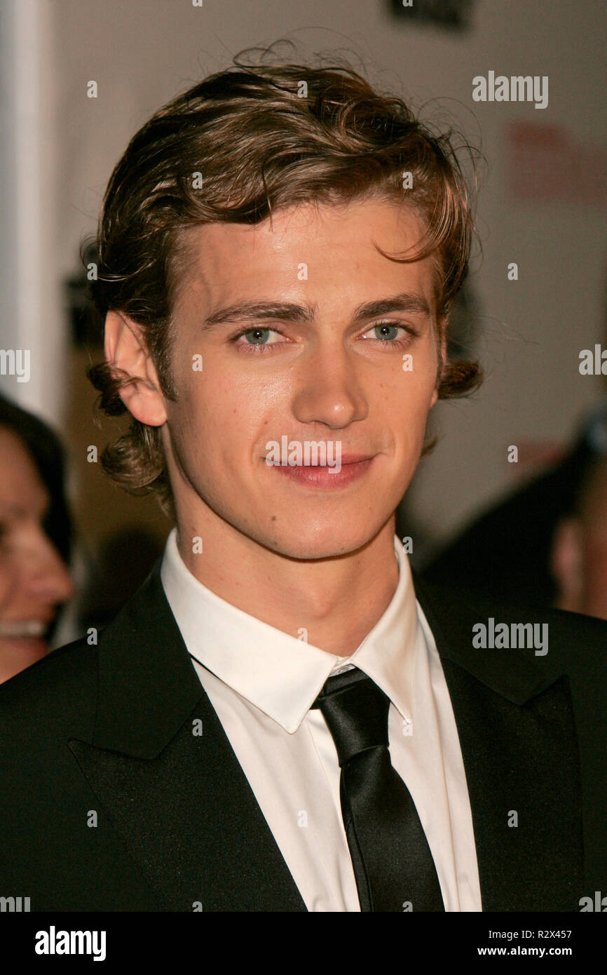 Hayden Christensen Cannes 2005 Cannes France 15 May 2005 Stock Photo Alamy