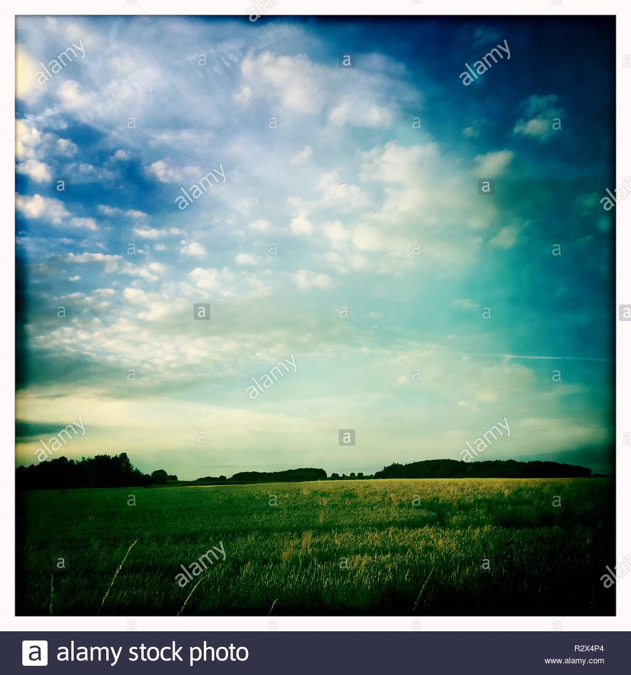 Landschaft Deutschland - Stock Image
