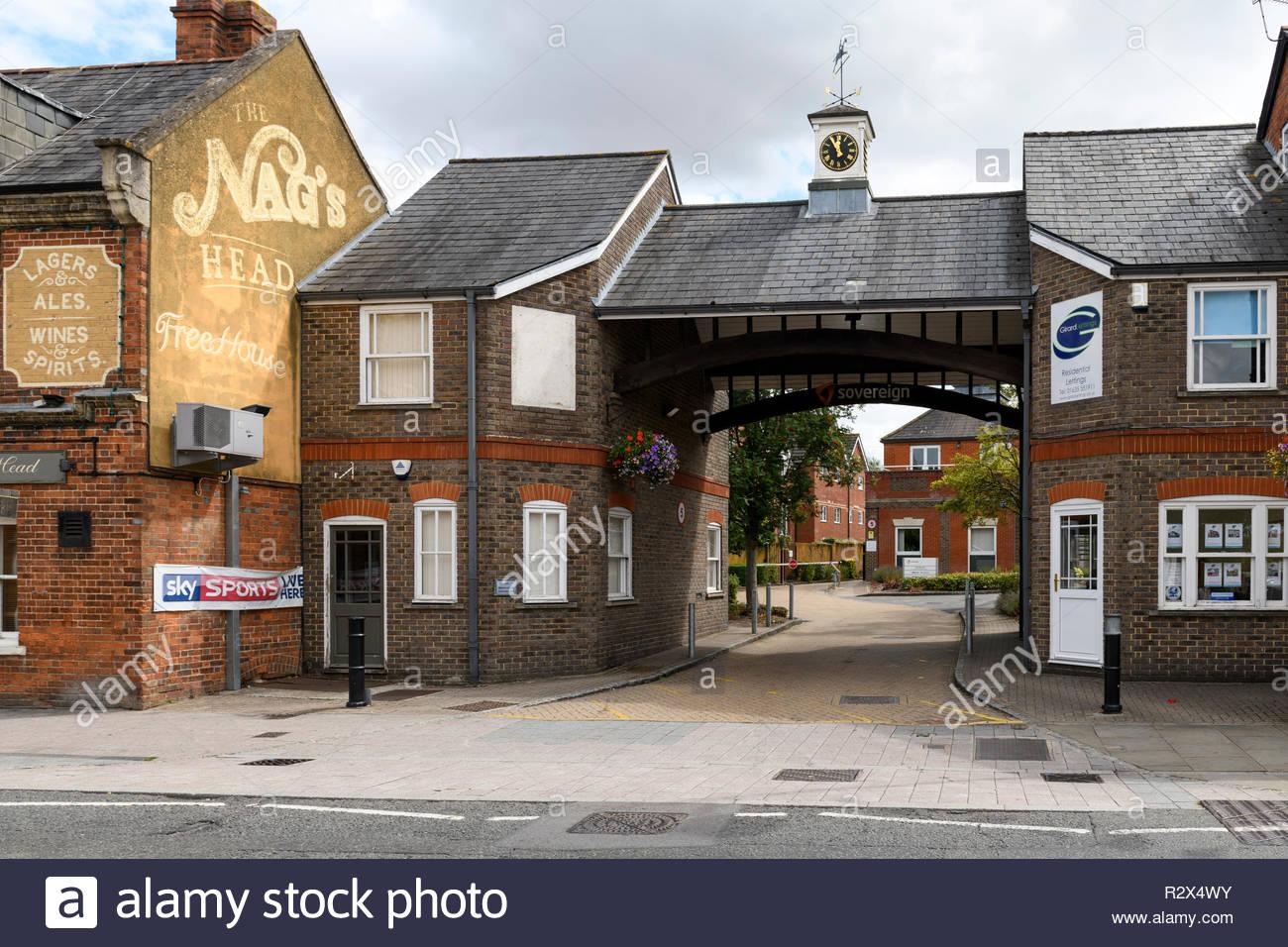 Newbury, Berkshire, England, UK - Stock Image