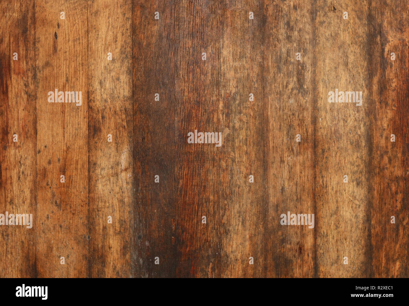 Vintage Brown Barrel Wooden Planks Background Texture With Scratches