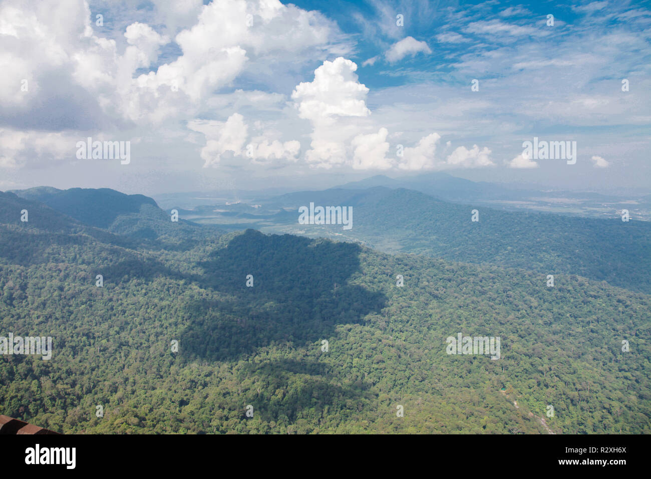 Langkawi Island Mountain View From Top Above Stock Photo 225548370