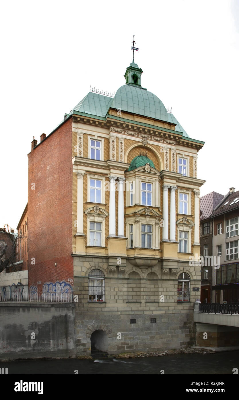View of Bielsko-Biala. Poland - Stock Image