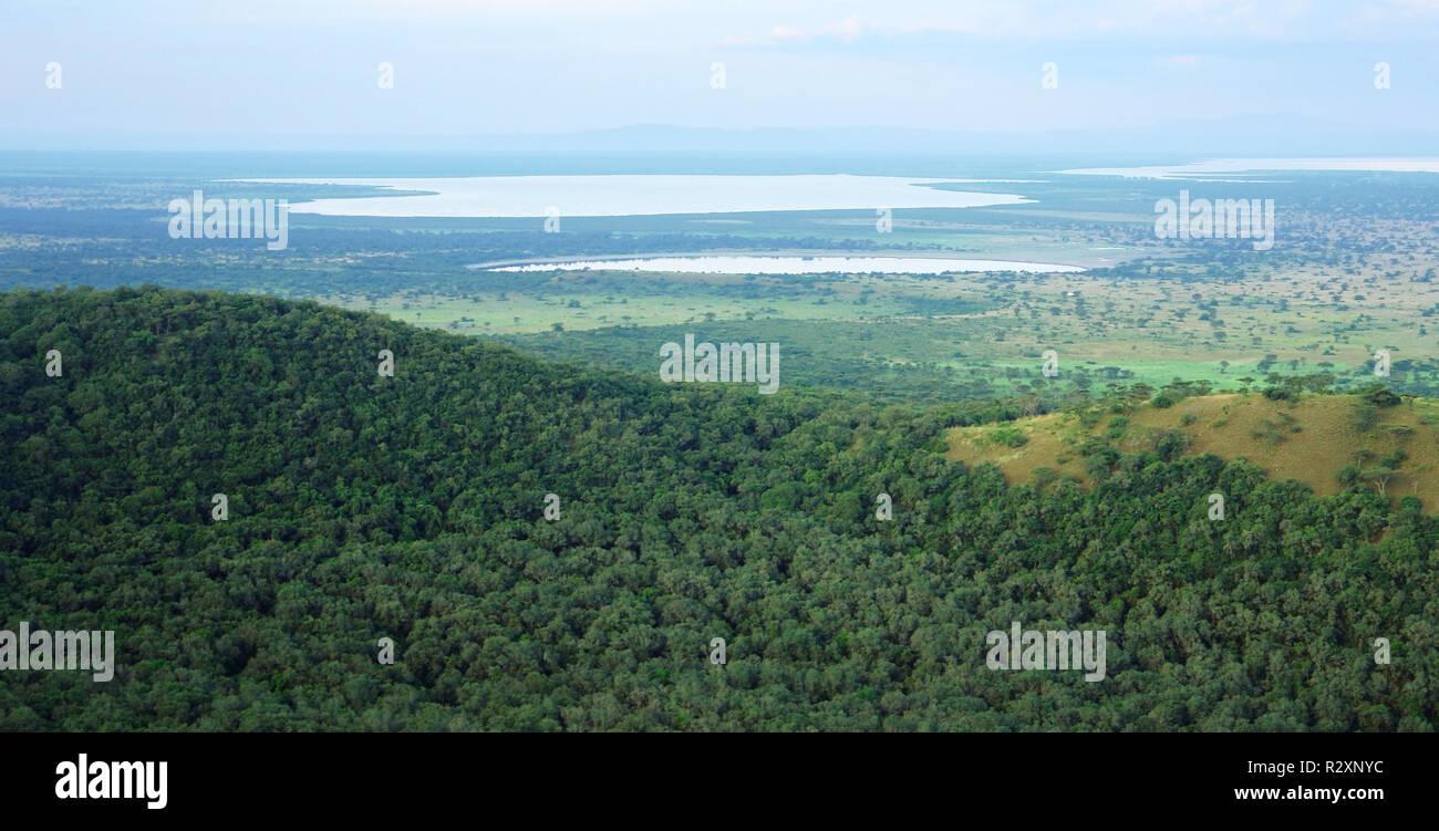 chambura gorge in uganda - Stock Image