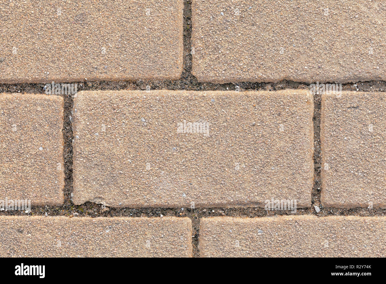 Detail of a paved floor background. - Stock Image