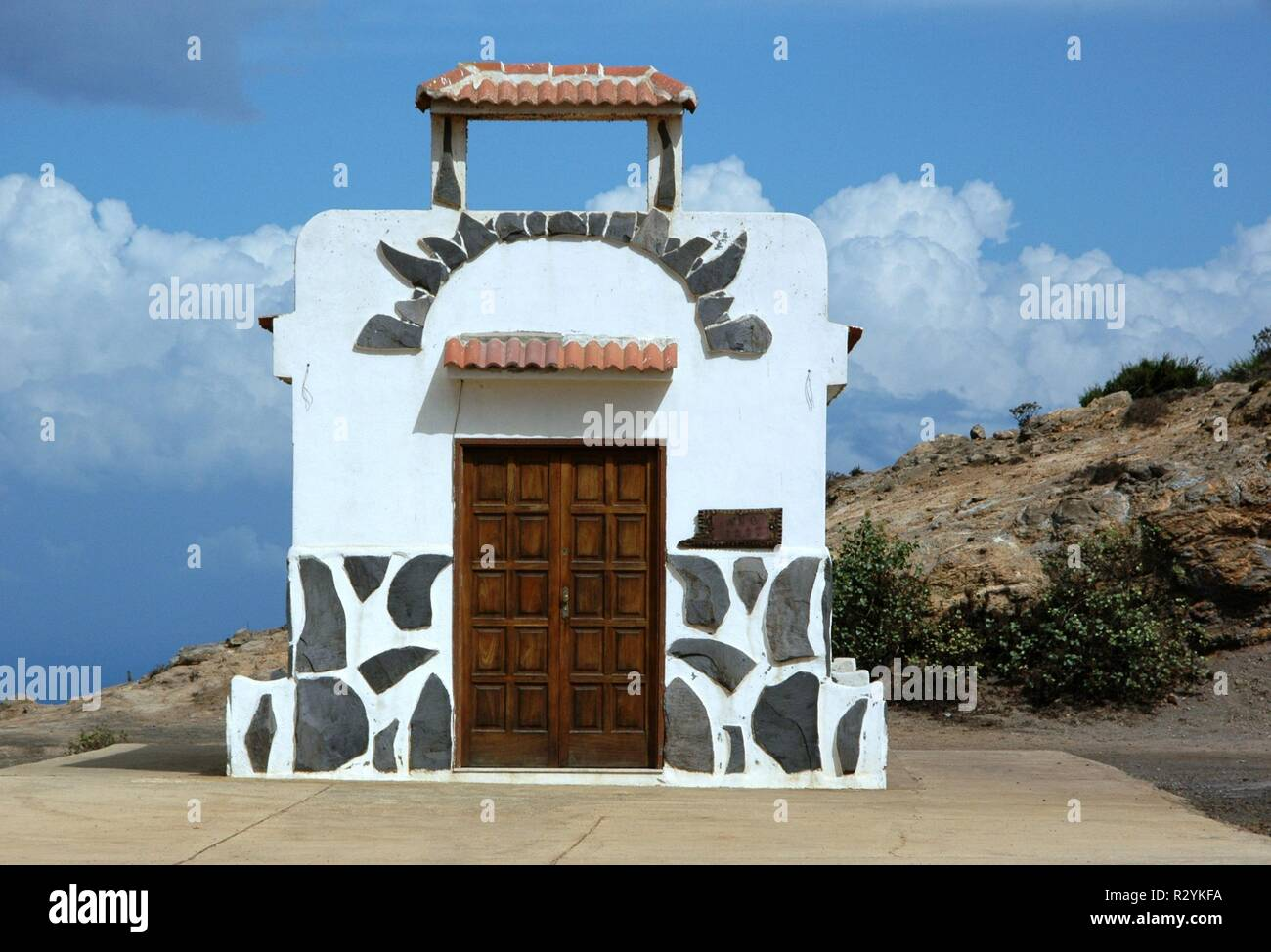 chapel on la gomera - Stock Image