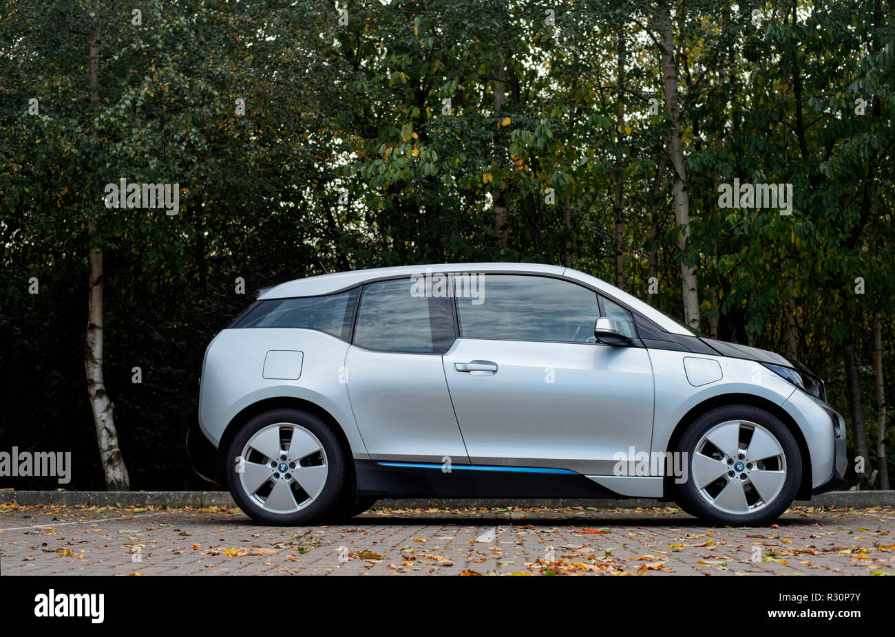 2015 Bmw I3 Range Extender Electric Car Stock Photo 225596223 Alamy