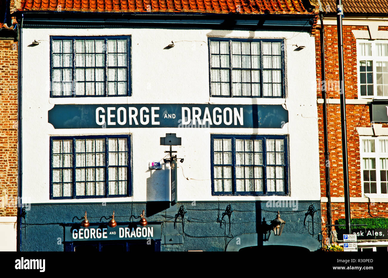 The George and Dragon, Yarm on Tees, North East England - Stock Image