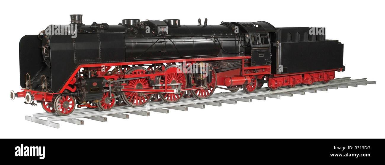 model railway - Stock Image