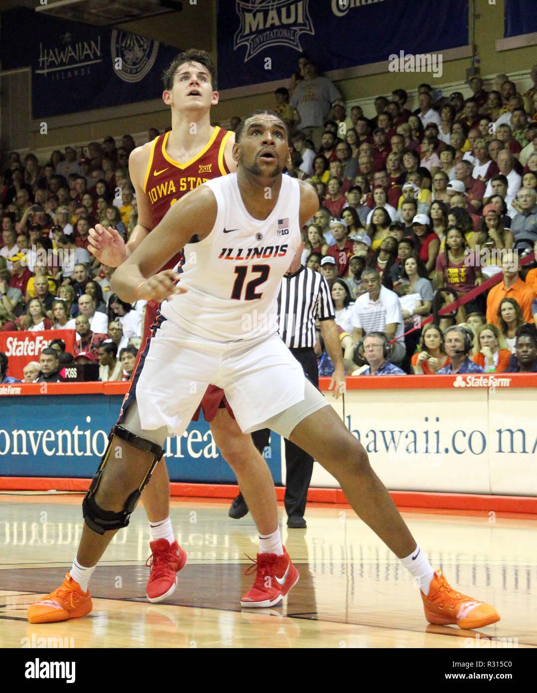 Adonis De La Rosa Illinois Fighting Illini Basketball Jersey - Red