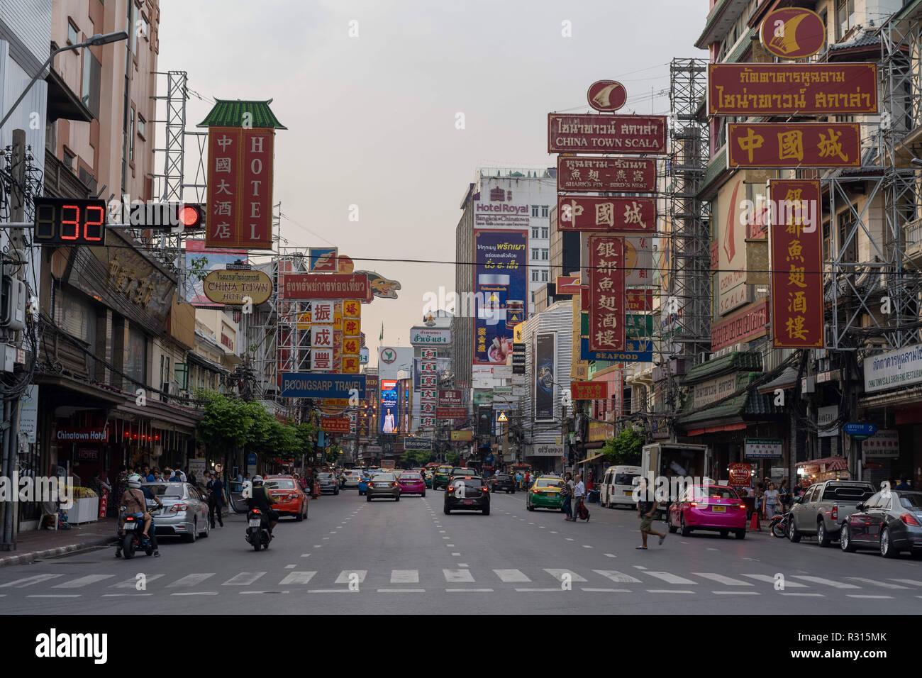 Bangkok Pathum Thani Thailand 19th Nov 2018 Street View Of